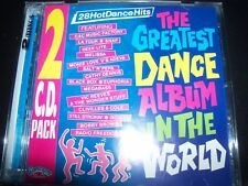 The Greatest Dance Album In The World Aust Various (Melissa Euphoria Snap) 2 CD