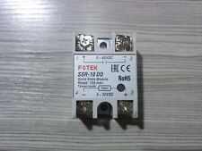 1PC FOTEK solid state relay SSR-10DD 10A