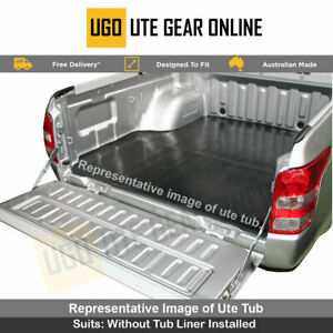Holden Rodeo Dual Cab Rubber Ute Tub Mat 2003  to June 2012 - New