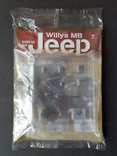Bauen Sie den Willys MB Jeep Teil 7, NEU / OVP