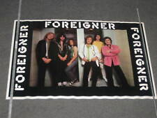 Foreigner poster Head Games Group Pose Bi-Rite 1980 original 22x24