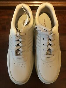NEW Rockport Rocsport Mens Size 10.5 M Leather Beige Comfort Shoes