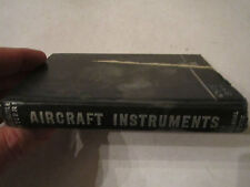 1943 AIRCRAFT INSTRUMENTS BOOK BY EMANUELE STIERI - TUB EM