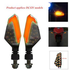 1 Set 2.5W Motorbike Accessories Turn Signal LED Light Daytime Running Light