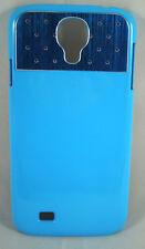 Handyhülle Handyschale Samsung Galaxy S4 i9500 Cover Schutzhülle Strass blau