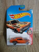 Hotwheels 68 Chevy Nova HW Flames 61/365 Orange Long Card 1 64 Scale Sealed