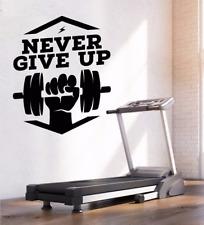 Sport Gym Stufen Fitness Wandtattoo Wallpaper Wand Schmuck 50 x 110 cm