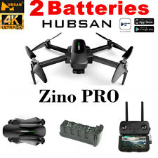 Hubsan Zino PRO 4.5KM Drone APP FPV 4K Camera 3Axis Gimbal Quadcopter +2 Battery