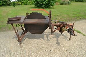 McConnel All Work Linkage Tractor PTO Saw Bench Logs Log Firewood Splitter
