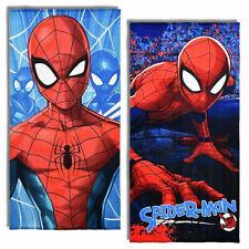 Spiderman Hoja De Mar En Esponja De Microfibra Toalla CM 70x140