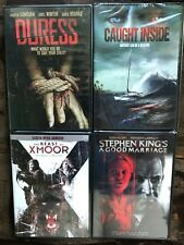 DVD lot New Free Ship Horror Caught Inside Beast Xmoor Stephen King Good Duress