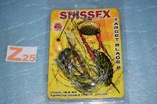 leurre SPINNERBAIT SUISSEX TARGET BLADE 2 couleur PIKE  neuf