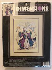 Dimensions THE WONDERFUL WIZARD Vintage Cross Stitch Kit