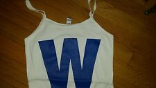 New Cubs W Spaghetti Strap Tank Top-  Cubs Win