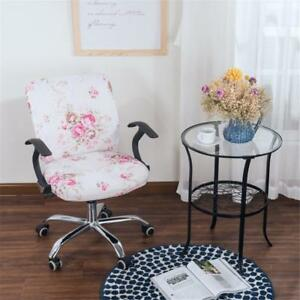 Stretch Dining Room Chair Slipcover Removable Office Computer Seat Cover