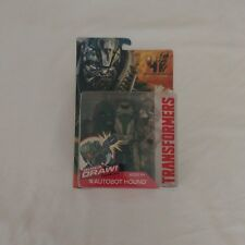 Transformers Autobot Hound Age of Extinction QUICK DRAW Brand New On Card