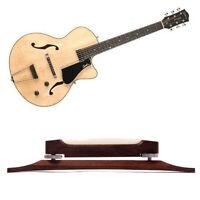 Jazz Guitar Rosewood Bridge With Bone Saddles Musical Stringed Instruments