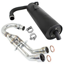 Atv Side By Side Utv Exhaust For Yamaha Rhino 660 For