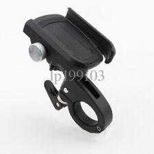 Black Aluminum Motorcycle Phone Holder For Harley Davidson Heritage Softail Dyna