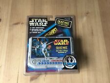 STAR WARS QUIZ WIZ ELECTRONIC QUESTION AND ANSWER GAME & 3 BOOK SET FROM 1997