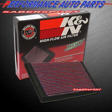 K&N 33-2190 Hi-Flow Air Intake Drop in Filter for 1998-2006 Jaguar XKR XK8 V8