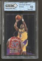 1996-97 Kobe Bryant Fleer #203 Gem Mint 10 Rc Rookie LA Lakers