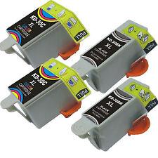 *4 Pack NEW 30xl Black & Color Ink Fits Kodak 30XL 30 Hero 3.1 Hero 5.1