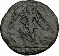 Constantine I The Great founds Constantinople Ancient Roman Coin Victory i35697