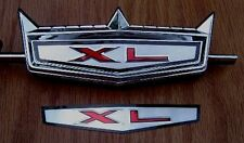 67 FORD FAIRLANE XL NOS TRUNK ORNAMENT EMBLEM INSERT