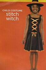 Stitch Witch Halloween Costume Pretty Sequins Shiny Velour Size Small 4 6