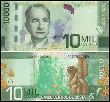 Costa Rica 10,000 Colones 2009(2012) UNC**New