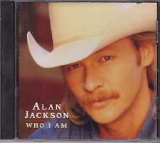 Who I Am by Alan Jackson (CD, Jun-1994, Arista)