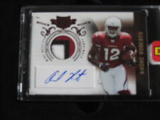 2010 PLATES & PATCHES ANDRE ROBERTS PATCH AUTO CARDNAILS