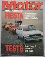 Motor magazine 5/2/1977 featuring Ford Fiesta test, Renault, Fiat, Volkswagen