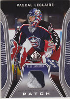 06-07 SP Game Used 3 Color PATCH Pascal Leclaire /50 SPGU 2006