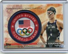 "2012 TOPPS USA OLYMPICS #ULP-NC NATALIE COUGHLIN ""OLYMPIC TEAM PATCH"" - SWIMMING"