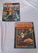 Eerie (1966 Warren Magazine) #54 & 1971 Annual Ships in 24 hours!