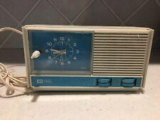 Vintage Ideal Electronics Telechron Electric Clock Table Radio