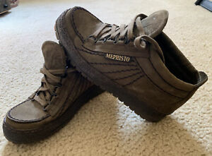 MEPHISTO Brown Gore-Tex Size 7.5 (38) Hiking Leather Ankle Boots Women's