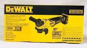 "DeWalt 20V DCG413B 4.5"" Brushless Angle Grinder w/ Brake Brand New in Sealed Box"