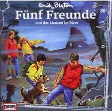 """FÜNF FREUNDE """"UND DAS MONSTER IM MOOR (FOLGE 39)"""" CD HÖRBUCH NEUWARE"""