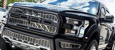 2017 Ford Raptor - Front Upper Grille Overlays | Slash Style