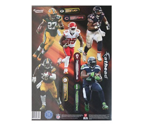 """Fathead Peel & Stick Vinyl Decals, NFL Running Back 8"""" to 9"""" Players - 11 Decals"""