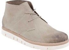 Tsubo Halian Mens Chukka Suede Boots in Putty (Light Beige) Sz 12 - NIB