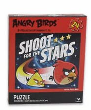 "Angry Birds 9"" x 10"" 3D 24 Piece Lenticular Shoot for the Stars Puzzle-New!"
