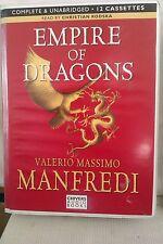 Empire of Dragons by Valerio M Manfredi: Unabridged Cassette Audiobook (DD3)