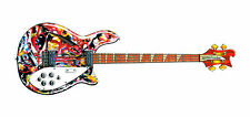 Mani's Rickenbacker 4005 Greeting Card, DL size