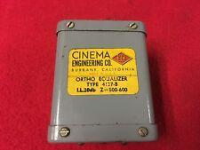 Rare Vintage Cinema Engineering Ortho Equalizer Type 4137-B Western Electric Era