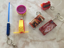 Lot Of 5 Vintage Miniature Key Chain Board Games - Toys