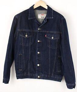 LEVI'S STRAUSS & CO Hommes Vintage Décontracté Jeans VESTE TAILLE S BEZ505